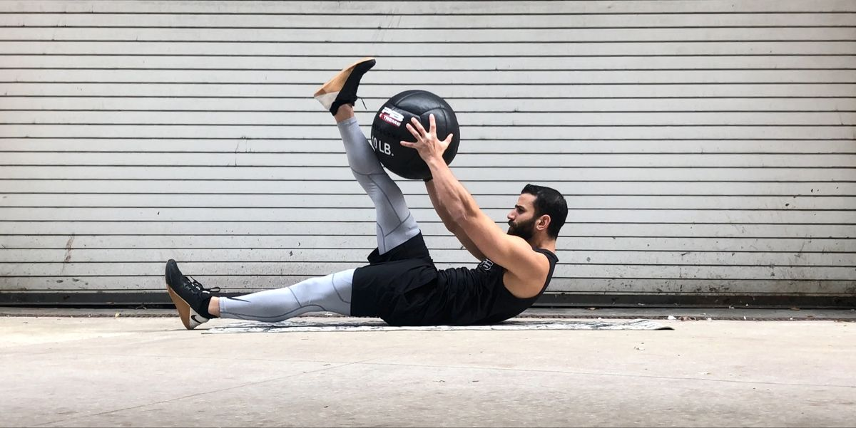 Hit Every Muscle in Your Core With This Medicine Ball Circuit