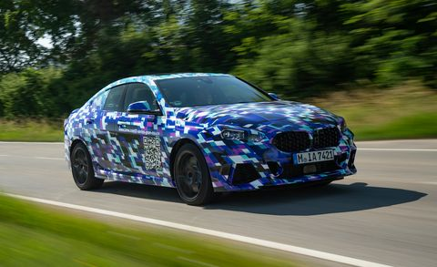 Compact 2020 BMW 2-series Gran Coupe Prototype Is Still ...