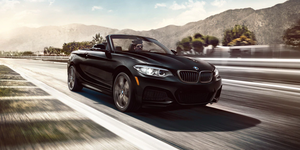 2020 BMW 2-Series convertible front