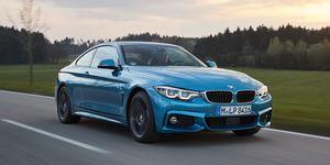 2020 BMW 4-series driving