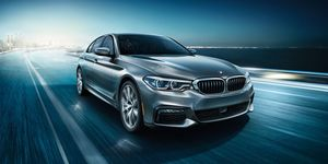 2020 BMW 5-series front