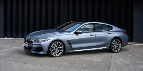 The 2020 BMW 8-Series Gran Coupe Is Handsome and Spacious
