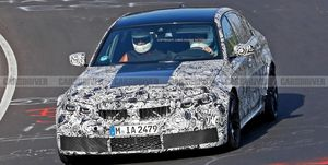 2020 BMW M3 prototype (spy photo)