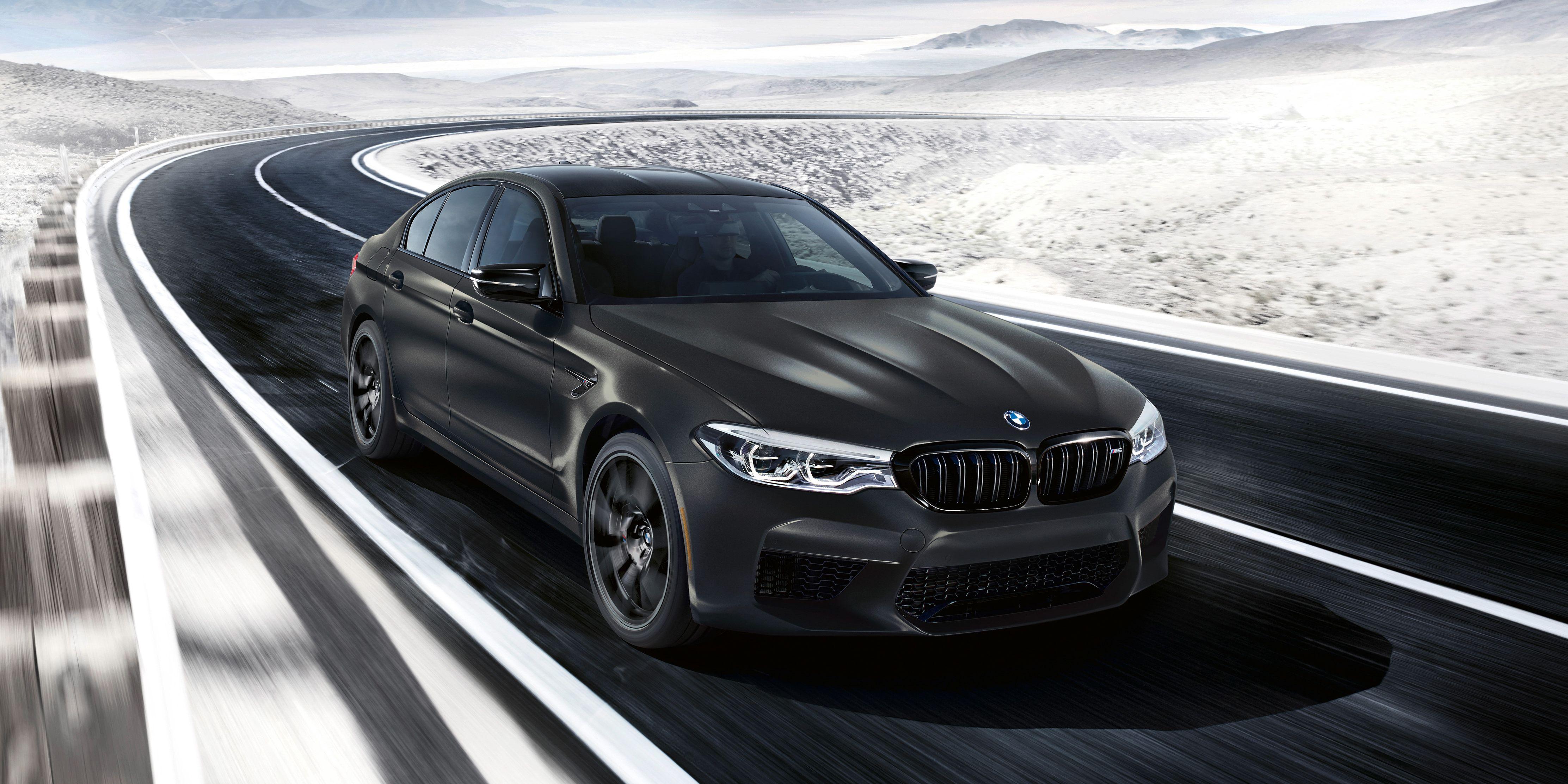 The 2020 BMW M5 Edition 35 Years Has Insane Gold Interior Trim