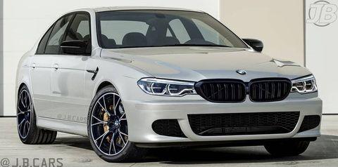 BMW M5 render