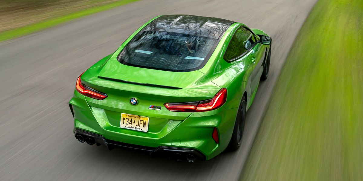 Tested: BMW M8 Competition Hits 60 in 2.5 Seconds