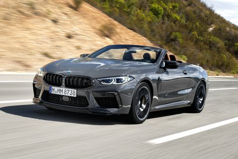 The 2020 BMW M8 Coupe and Convertible Drive Well and They're Fast as Hell
