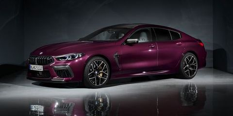 View 2020 BMW M8 Gran Coupe Photos