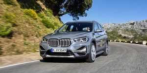 2020 BMW X1 front