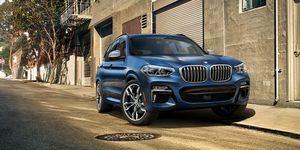 2020 BMW X3 front