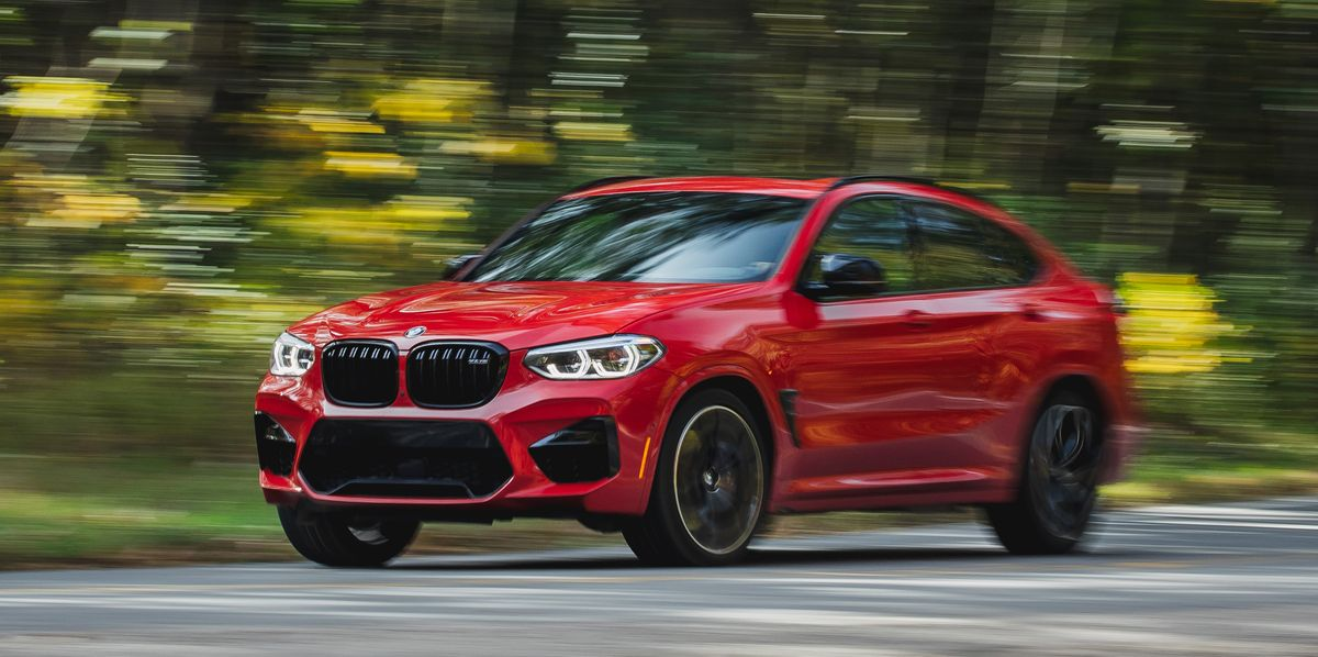 2020 BMW X4 M Competition Is One of the Quickest SUVs We've Tested