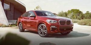 2020 BMW X4 front