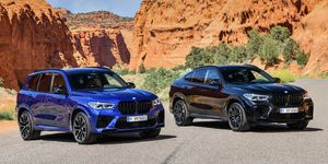 2020 BMW X5M and X6M