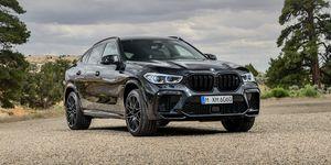 2020 BMW X6 M front
