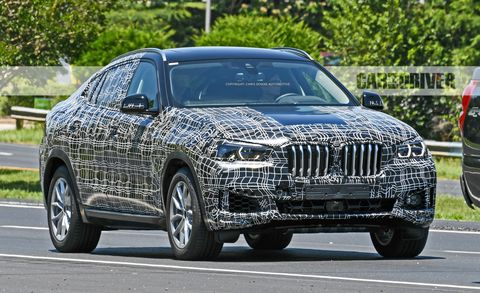 2020 Bmw X6 Spy Photos The Fastback X5 Enters Gen Three News