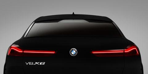 2020 BMW X6 Vantablack®