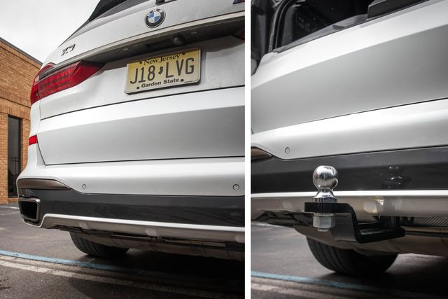 stealth hitches trailer hitch on bmw x7