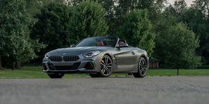 2020 BMW Z4 front