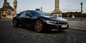 2020 BMW i8 front