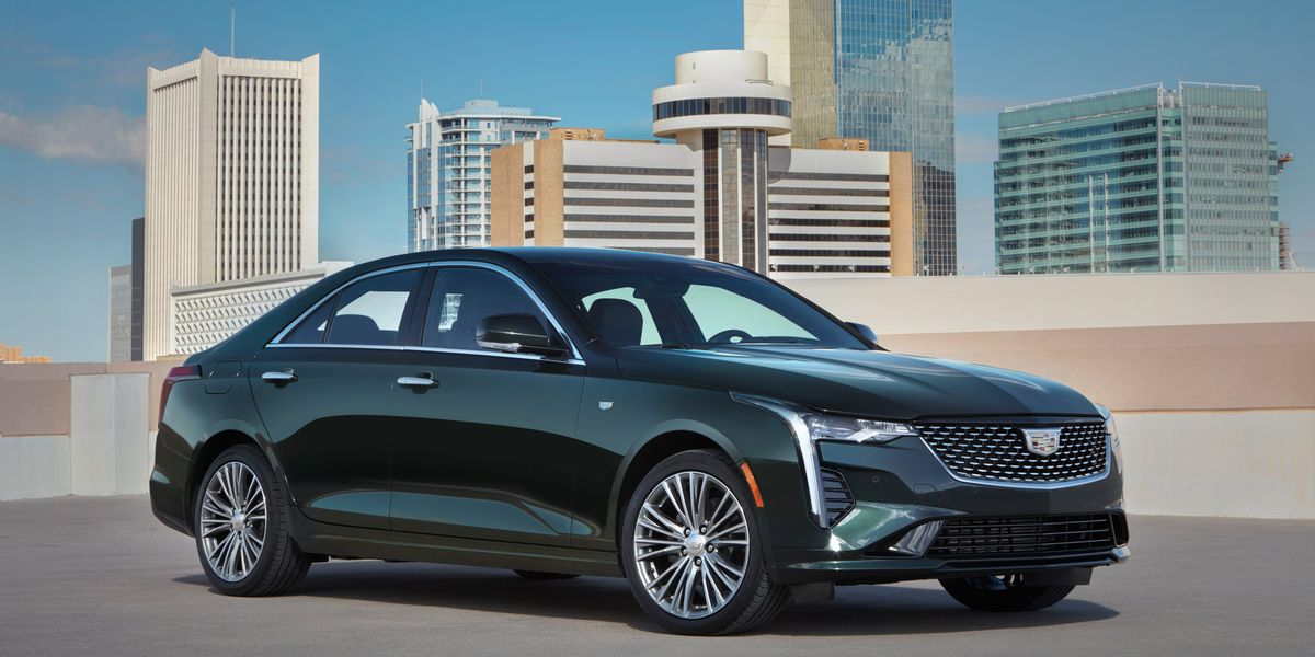 View Photos Of The 2020 Cadillac Ct4 450t Newsopener