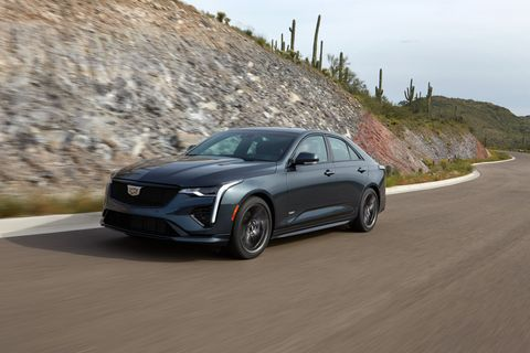 the 2020 cadillac ct4 v provides clean looks and proper sport sedan proportions to enjoy looking at and driving