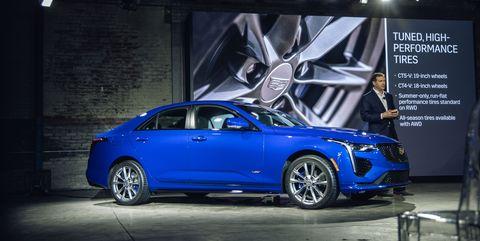 2020 Cadillac CT4-V Entry-Luxury Sedan – New CT4-V ...
