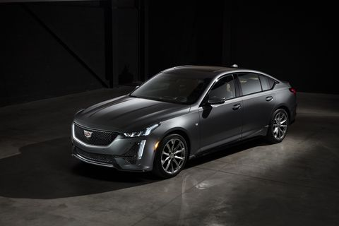 The 2020 CT5 Is Cadillac's New, Rear-Drive Sports Sedan