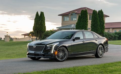 2020 Cadillac CT6 front
