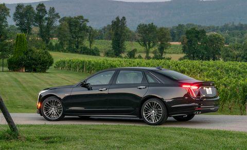 2020 Cadillac CT6 rear