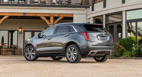 2020 Cadillac XT5 Rückansicht