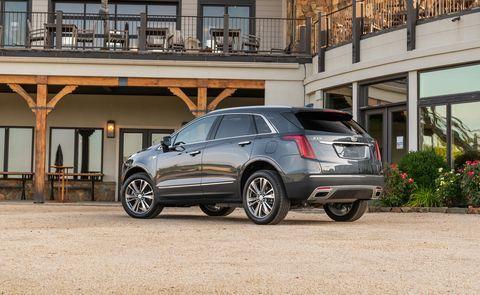 2020 Cadillac XT5 rear view