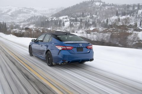 Toyota Camry and Avalon AWD