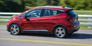 2020 Chevrolet Bolt EV side