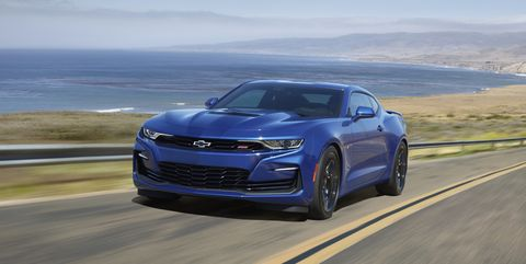 2020 Chevrolet Camaro – Styling Updates, LT1 V-8 Model