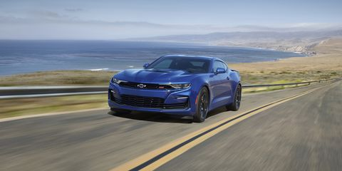 Land vehicle, Vehicle, Car, Automotive design, Performance car, Personal luxury car, Chevrolet camaro, Bumper, Full-size car, Sports car,
