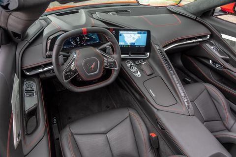Nội thất Chevrolet Corvette 2020