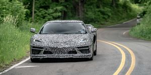 2020 Chevrolet Corvette C8 prototype