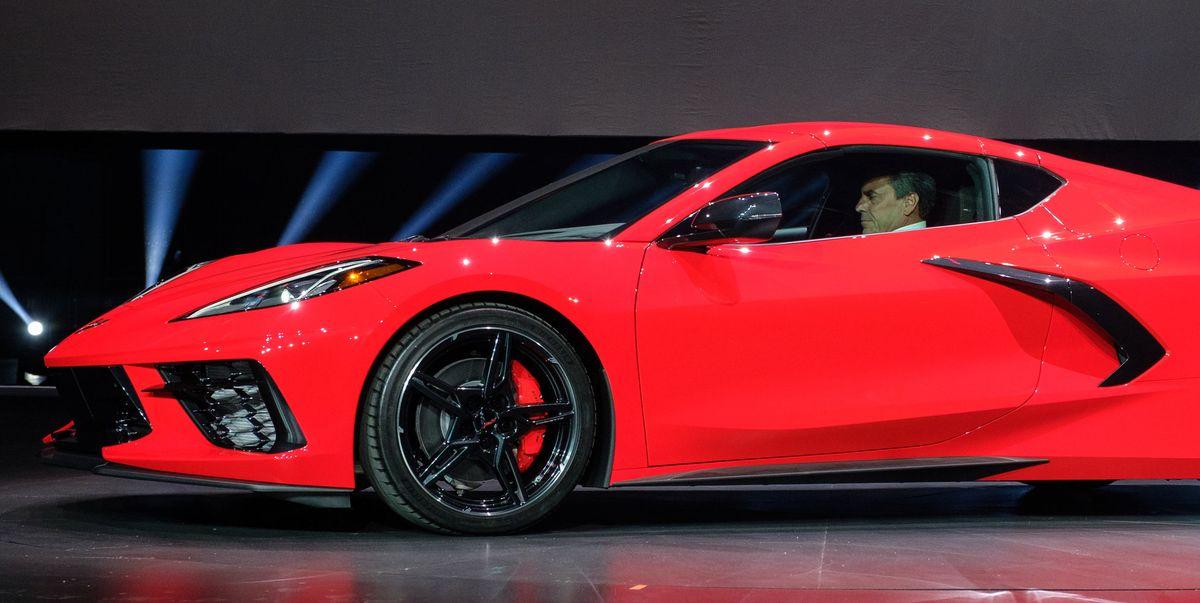 The 2020 Chevy Corvette C8's Smart Lift Nose Is Pretty Cool