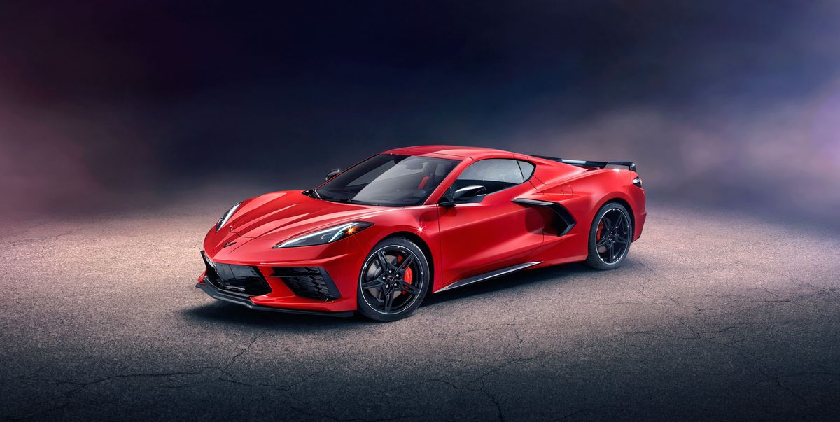 mid engined  chevy corvette