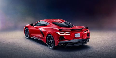 New Corvette 2020.See The Mid Engined 2020 Chevy Corvette From Every Angle