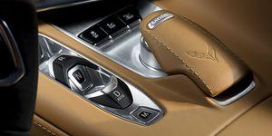 2020 Chevy Corvette shift buttons
