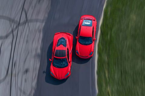 2020 chevrolet corvette stingray z51 vs 2020 porsche 718 cayman gt4