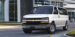 2020 Chevrolet Express front