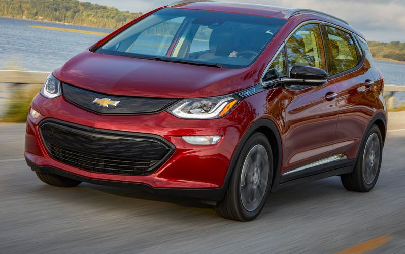 2020 Chevrolet Bolt EV Review, Pricing, and Specs