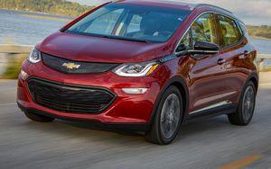 2020 Chevrolet Bolt EV front