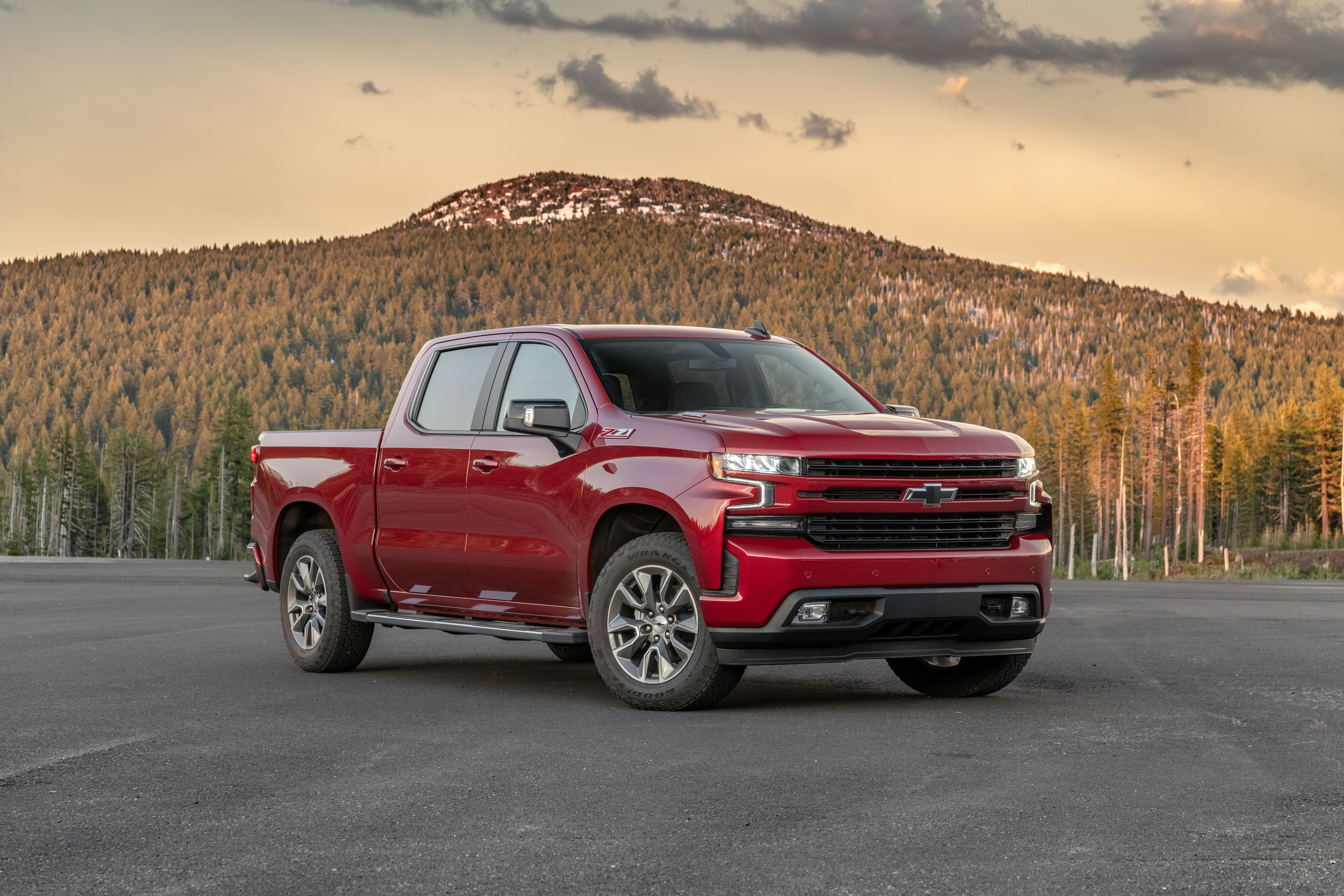 2020 Chevrolet Silverado Spy Shoot