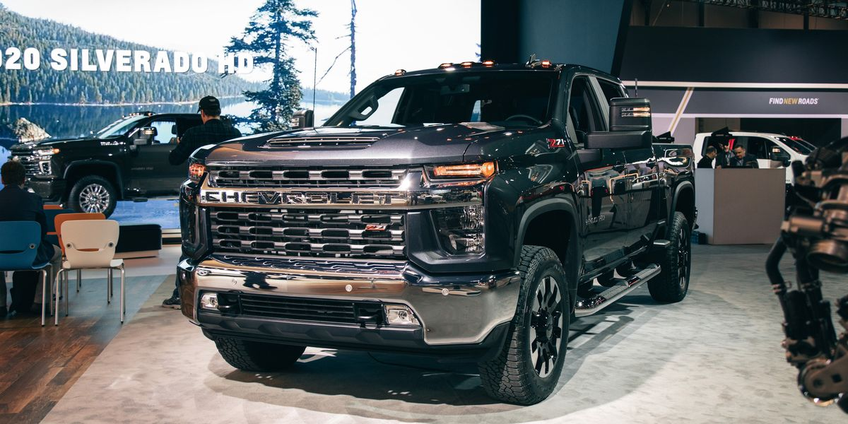 2020 Chevrolet Silverado HD – Heavy-Duty Trucks Boast Big ...