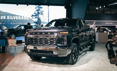 Silverado 2500 Towing Capacity >> 2020 Chevrolet Silverado Hd Heavy Duty Trucks Boast Big