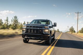 Chevy's New Silverado HD Trucks Are All About Towing