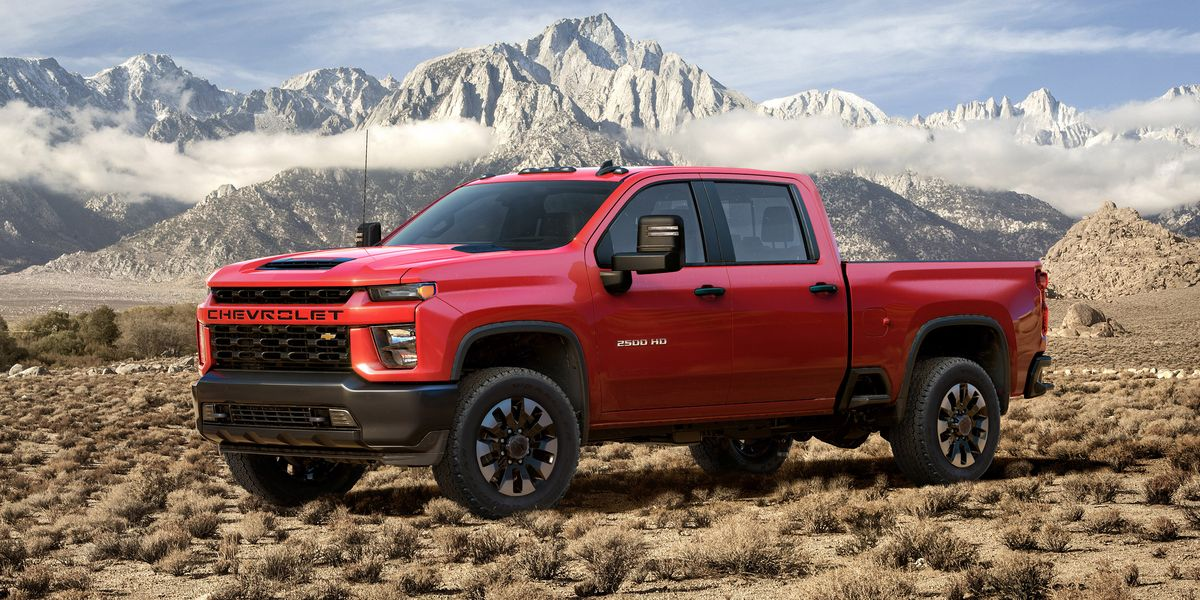 2020 Chevrolet Silverado HD - New Chevy 2500 and 3500 Debut at 2019 Chicago Auto Show